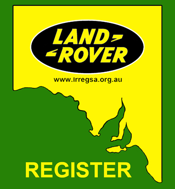 Land Rover Register of South Australia Inc. Logo